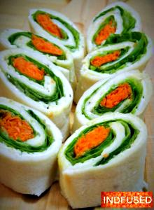 Tiranga Tea Sandwiches- fun to make and eat with kids on August 15th and January 26th!