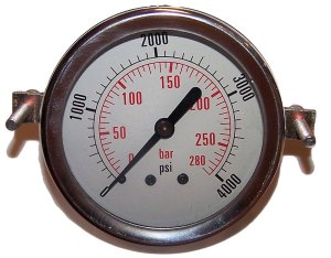 4000 PSI - Panel Clamp Gauge
