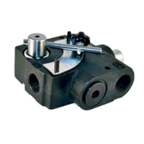 "3/8"" NPT Hydraulic 3 Port Flow Control Valve with Relief Valve"
