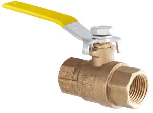 "2-Port Low Pressure Ball Valve - 1/2"" NPT"