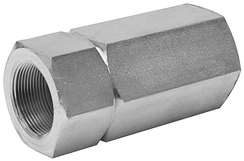 SAE #8 Hydraulic Check Valve - 5 PSI Crack, Zinc Plated