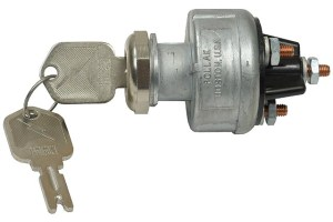 Pollak Keyed Ignition Switch