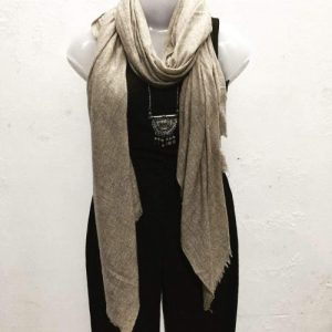 Cashmere Shawls - Dark Brown - IndiBlu Boutique