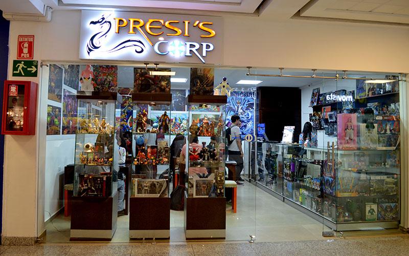 Local PRESI'S CORP, un espacio para la diversión