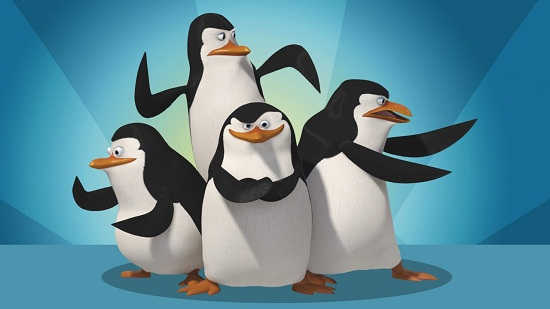 DreamWorks Ice Penguins
