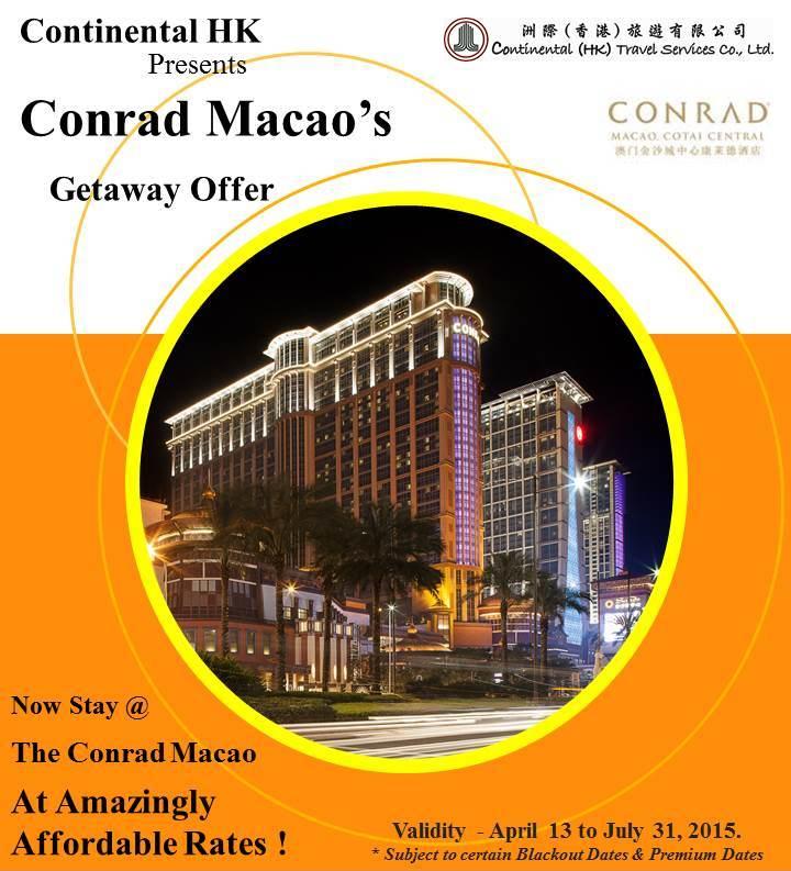 conrad macao getaway offer