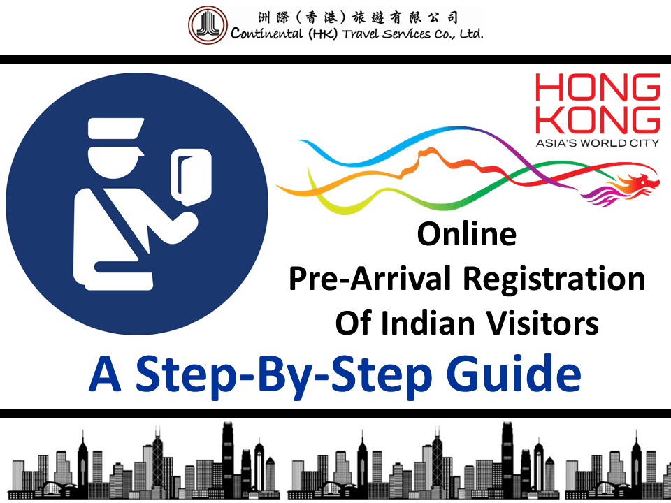 Hong Kong Pre Arrival Registration Guide