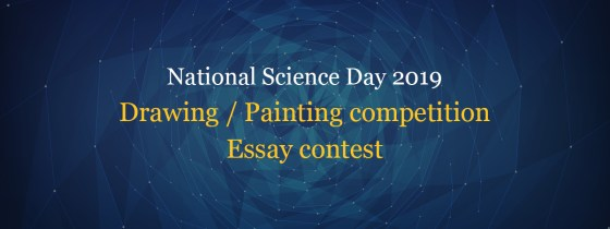 Science Day contest - essay, drawing and painting contest