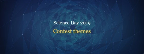 Science Day contest themes for essay competition, drawing competition and painting contest