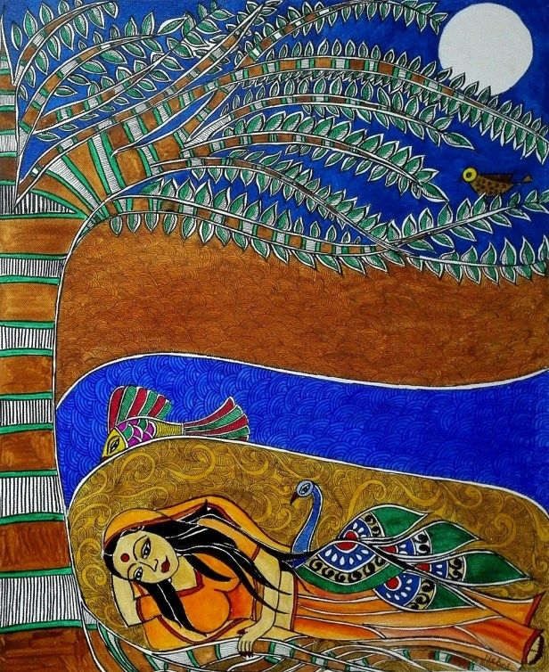 The Janaki, painting by Nehal Shah
