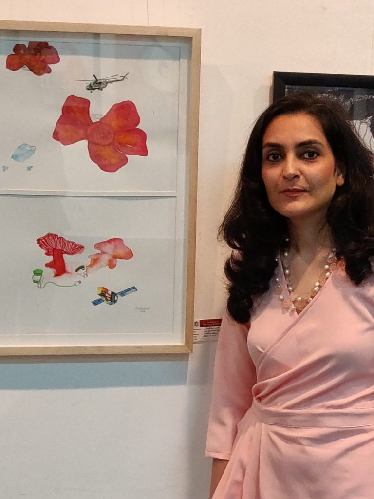 Artist Ambika Wahi