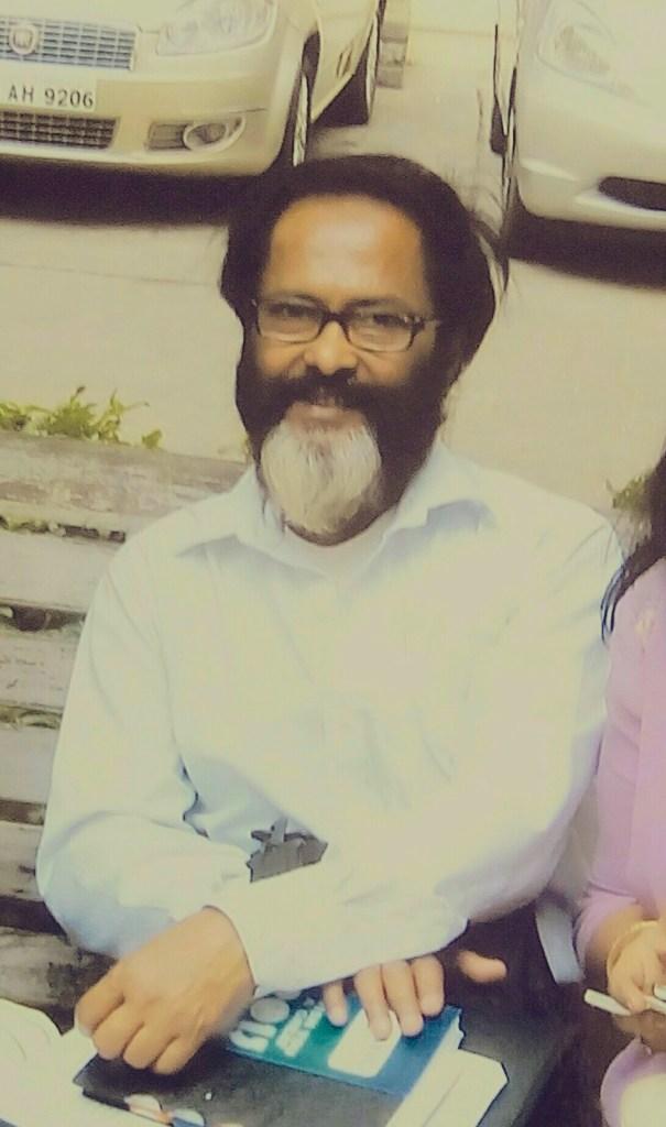 Artist Pradip Sarkar