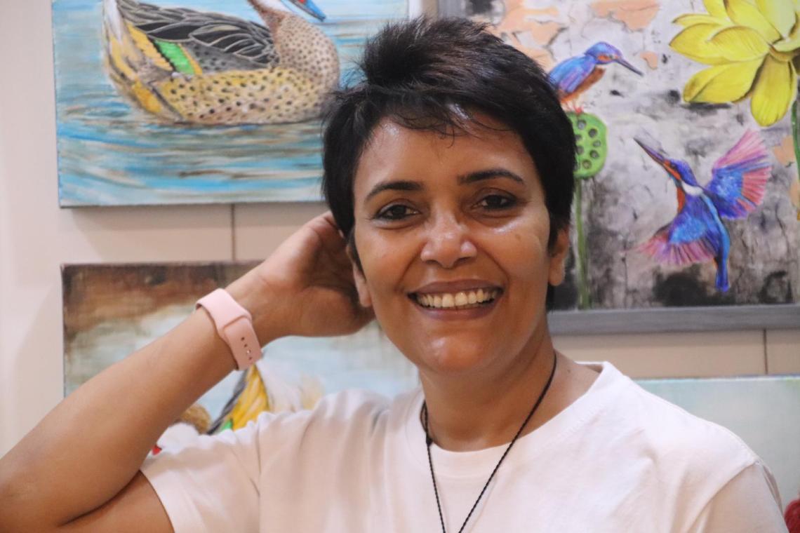 Artist Anuradha Kabra