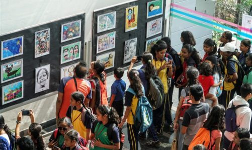 Exhibition of medal winning artworks by children and young adults