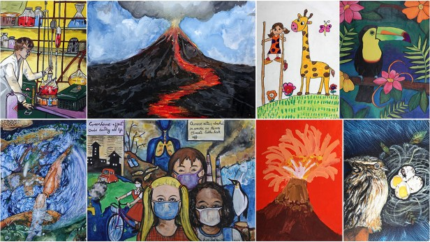 National Painting Contest to mark 150th anniversary of Periodic Table comprised of free online painting contest and on the spot painting competition