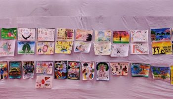 Poster exhibition at 'Kutuhal', S.P. College, Pune