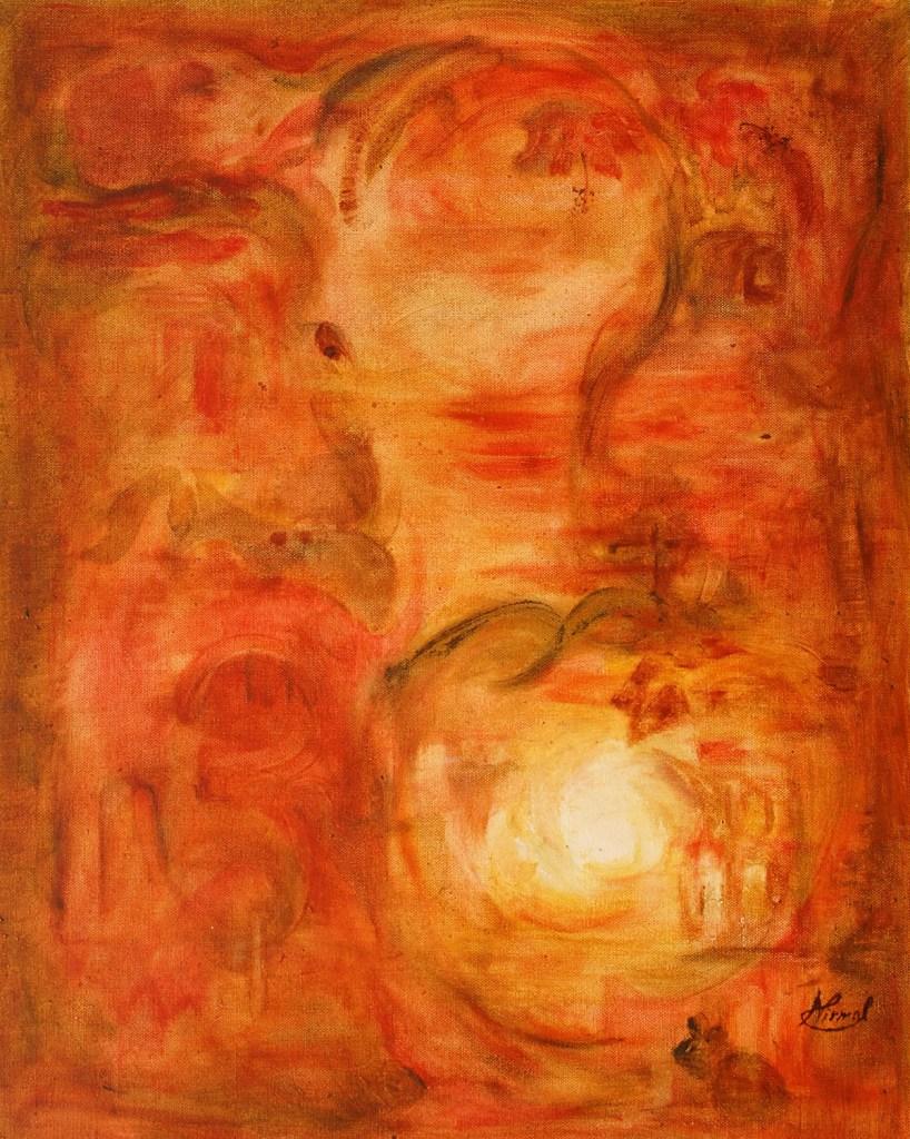 Avanesh, painting by Nirmal Pathare