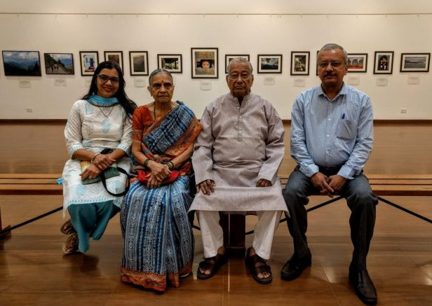 Raut family at my photography exhibition