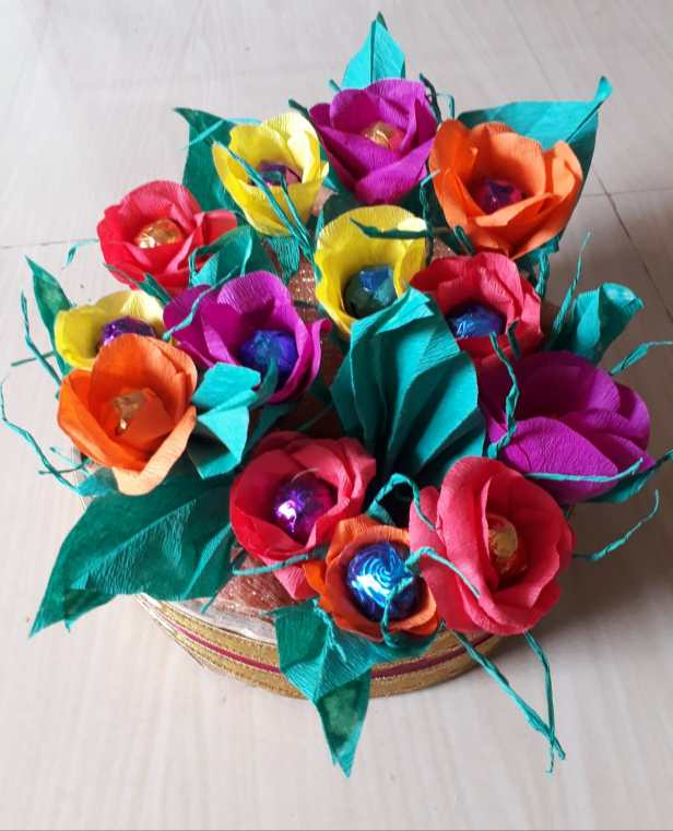 Craft by Swara Damle (class 8), Golap, Ratnagiri