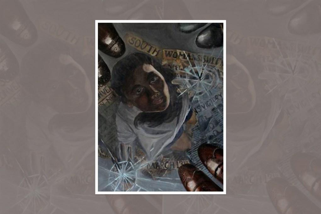Painting by Anisha Kundu, Sudbury, Massachusetts - prize winning painting from national art competition in U.S.