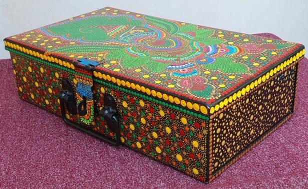 Creative expression by Lakshmi Sukanya, Bangalore for Art in coronavirus lockdown