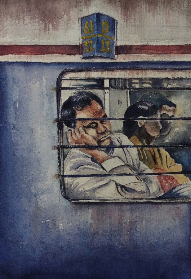 Painting by Vikash Verma (20 years), Lucknow, Uttar Pradesh - Silver medal
