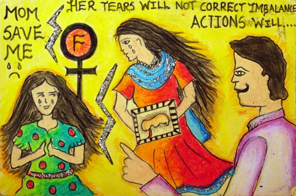 Painting by Asmita Mahamuni (15 years), Pune