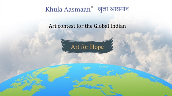 Drawing, painting and art competition for the Global Indian community, OCI, NRI, PIO