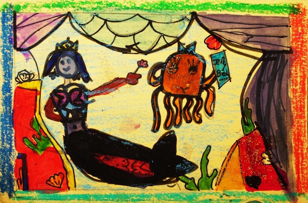 Painting by Swara Kramit (9 years), Pune