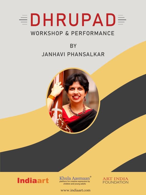 Dhrupad workshop and performance by Janhavi Phansalkar