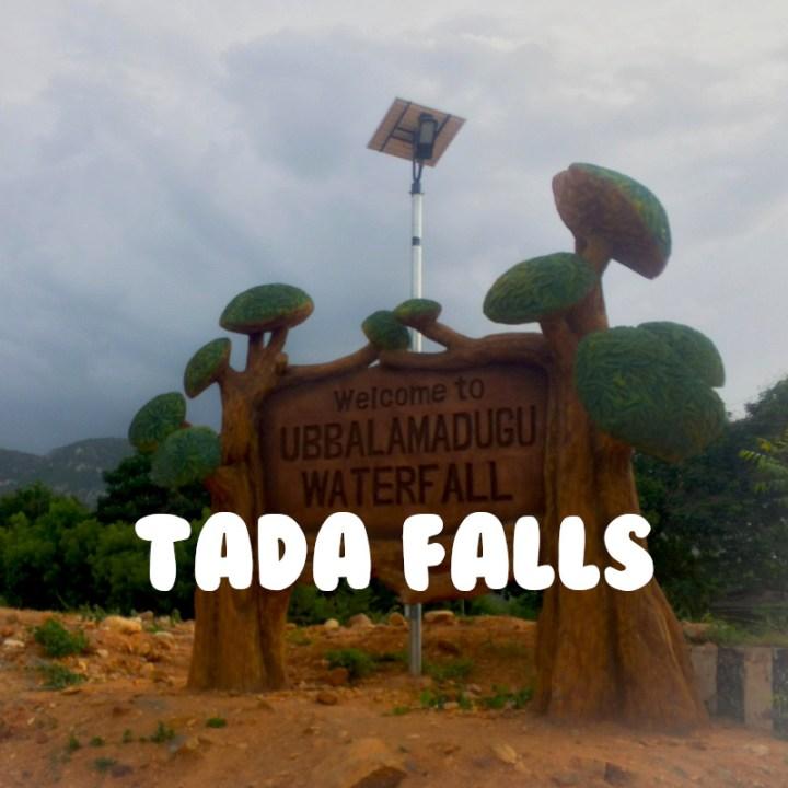 Chennai Weekend Getaway Road Trip Tada Falls