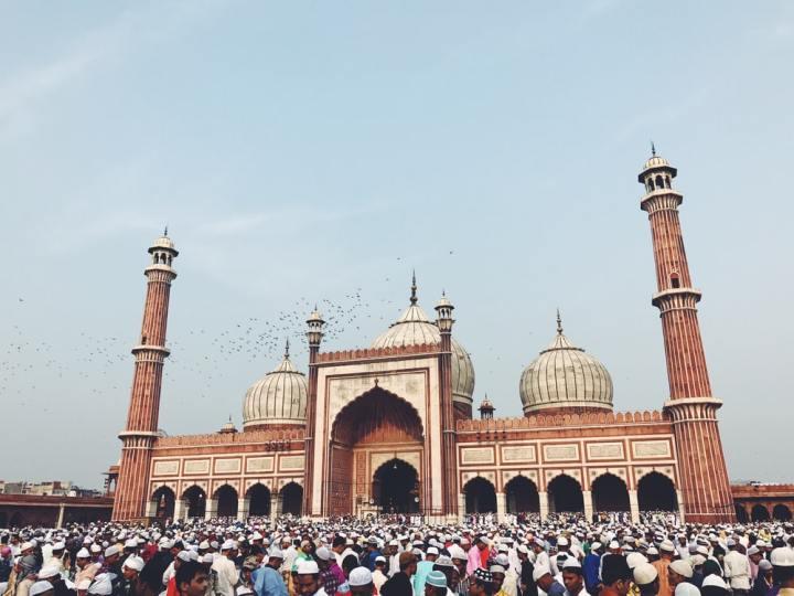 Religious Delhi Jama Masjid