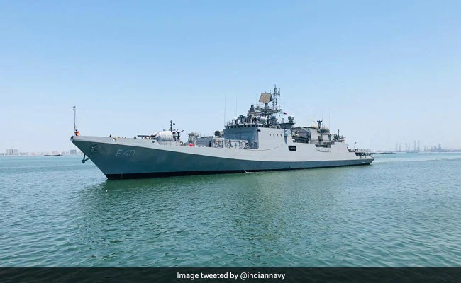 Indian Navy Launches Operation Samudra Setu-II To Ship Oxygen From Abroad