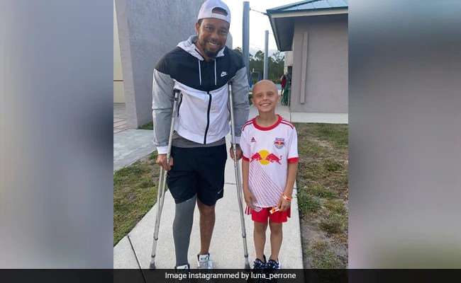 Tiger Woods Tells 10-Year-Old US Girl Fighting Cancer: Stay Strong