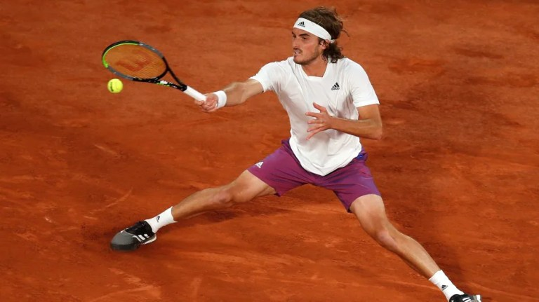 French Open: Stefanos Tsitsipas downs Chardy to reach second round   Tennis News