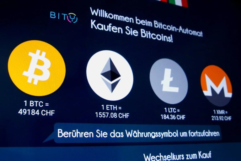 Ethereum Extends Gains to Rise 8 Percent; Bitcoin Firms