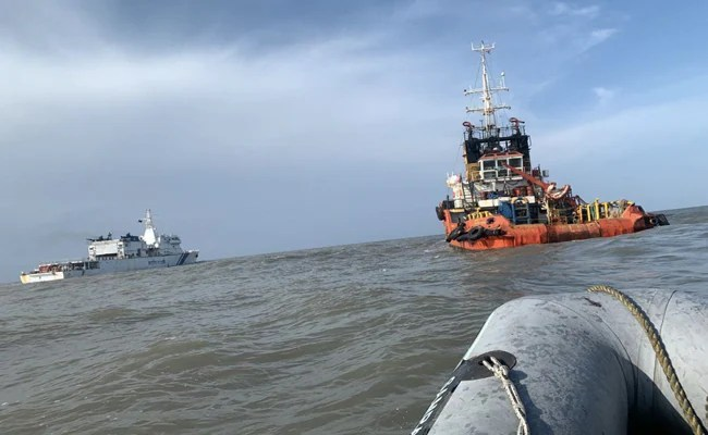 Body Of Missing Captain Of Barge Which Sank Off Mumbai During Cyclone Identified
