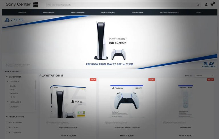 PS5 India Restock: PlayStation 5 Pre-Orders Restart On May 27