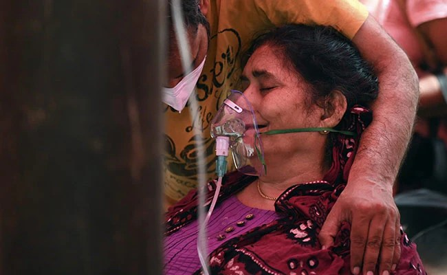 Deadly Oxygen Shortages As India Nears 2 Crore Covid Cases