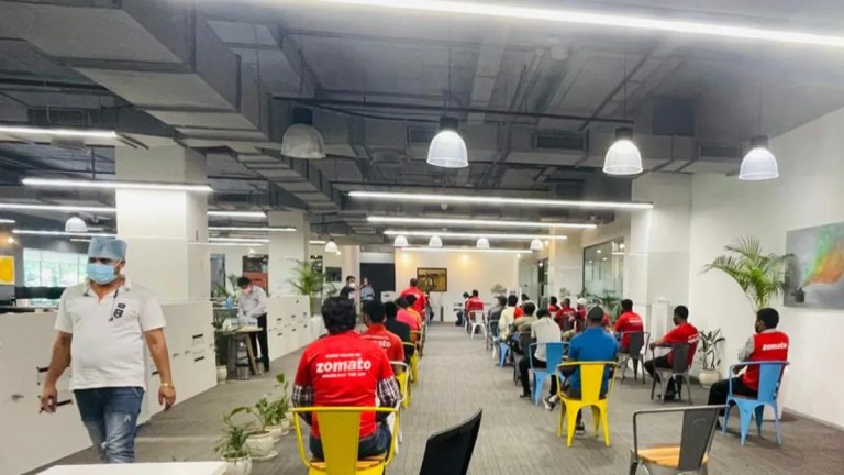 Zomato, Swiggy Kick Off COVID-19 Vaccination Drive for Their Delivery Partners