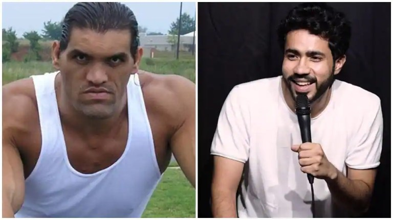 The Great Khali not amused by fans' comments, stand-up artist Abhishek Upmanyu comes up with THIS new 'request' | Other Sports News
