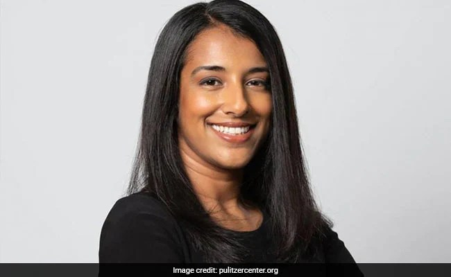 Desi Twitter's Can Relate Moment With Pulitzer Winner Megha Rajagopalan Text From Dad
