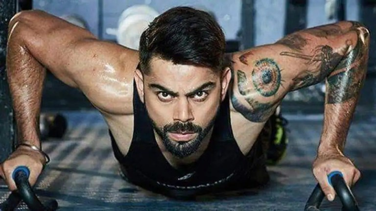 India vs England: Virat Kohli sets fitness targets, sweats out in gym despite being on a break – WATCH   Cricket News