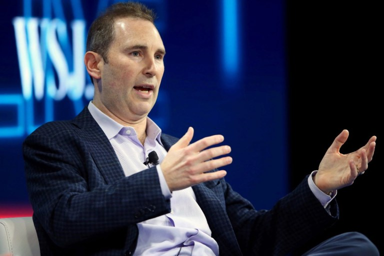 Amazon to Grant Incoming CEO Andy Jassy Over $200 Million in Stock