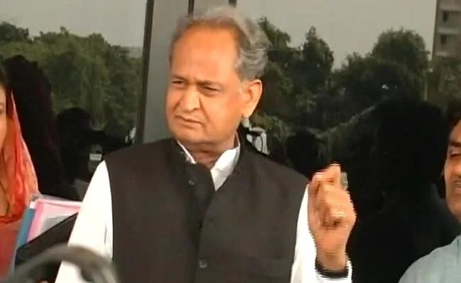 Ashok Gehlot Says Centre's Reply In Parliament Shows No Vaccine Wasted In State
