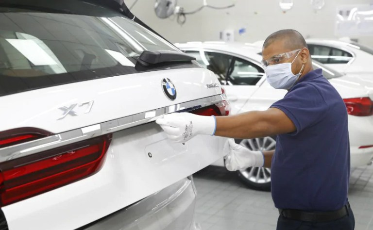 BMW Can't Finish Production Of 10,000 Cars Over Chip Crunch