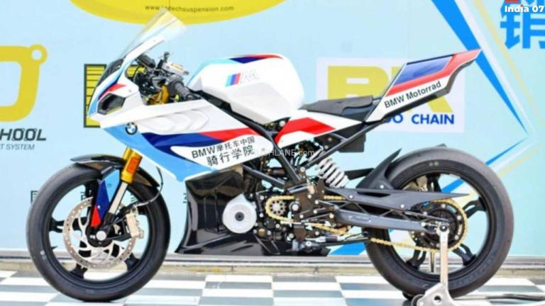 BMW G310R Modified Into A Fully Faired Race Machine