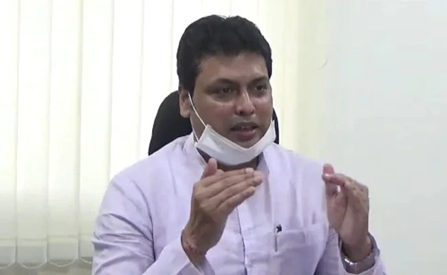 Tripura Chief Minister Biplab Deb Inducts Rivals To State Cabinet Seeking To Stem Dissent