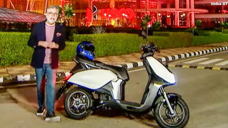 New Hero MotoCorp Electric Scooter Officially Teased