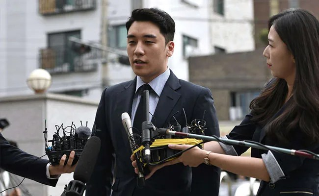 Ex Ok-Pop Star Seungri Jailed For 3 Years For Arranging Prostitution: Reports